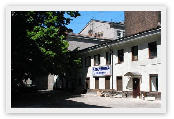 Вид на здание Института